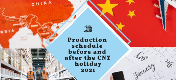 When should you order to receive your products before the Chinese New Year 2021?